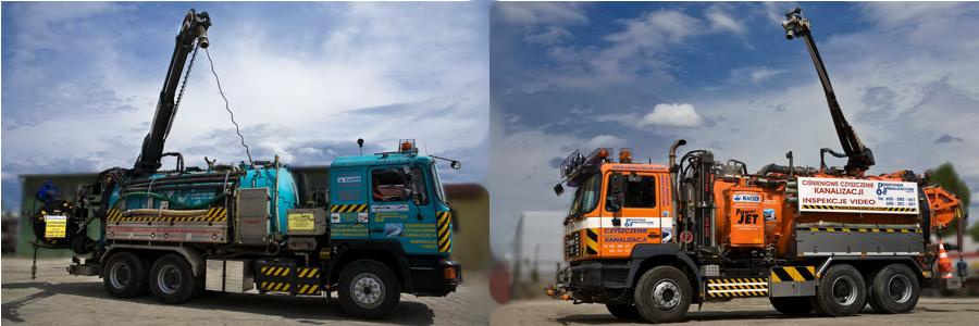 Przyjazne środowisku pojazdu z funkcją odzysku wody z osadów - RECYKLING