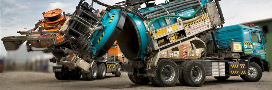 Nowoczesne i wydajne pojazdy do ciśnieniowego czyszczenia kanalizacji