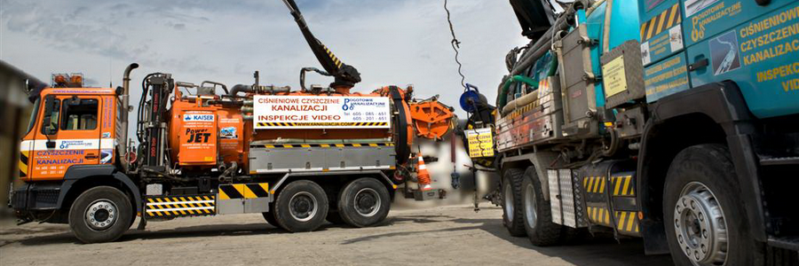 Wydajne pojazdy do czyszczenia kanalizacji z funkcją RECYKLINGU